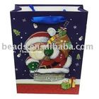 Santa claus design christmas gift bag