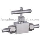 Socket weld valve, SW valve, needle valve