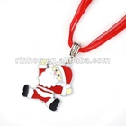 Lovely Christmas Santa Alloy Necklace