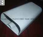 White PP plastic profile
