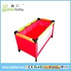 fashion playpen with 2 layer blanket