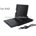 360 Degree Rotate Black Wireless Mini Bluetooth Keyboard Case Cover For Apple iPad2 3