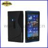 S Line TPU Case for Nokia Lumia 920, TPU Pouch Cover for nokia Lumia 920, Hot Seller