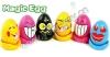 Egg plant.Face egg.magic message egg
