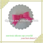 best promotion gift customized logo silicone cup cover