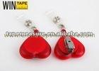 Heart-shaped Badge Reel