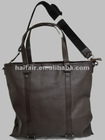 Pu men business bag two usage bag large bag
