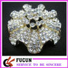 hot sale big crystal brooch