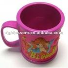 Custom Plastic cartoon mug
