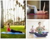 Wear-resisting gym mats,Sunshine Health yoga mats,EVA foldable Moisture-proof yoga mats,foam exercise mat