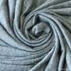 100 viscose rayon grey fabric high quality knitted fabric