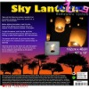The Sky Lantern Of China (The Most Popular,HF-SL001)