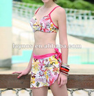 Swimming wear with skirt