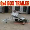 6 x 4 Galvanized Box Trailer