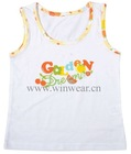 summer knitted sleeveless Children's vest