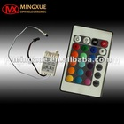 24key rgb led remote control