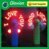 2012 hot sale usb input led message fan LED color USB mini fan