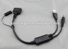 iPod iPhone Kabel BMW E60 E61 F07 F10 E63 E64 F01 F02