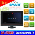 China cheap flat screen 15.6'' LCD TV KA-1788GL