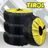 Free Shipping 4pcs Auto Tire Totes 20-24 Inch With Size Adjustment by Drawstring Fit All Tires Cover