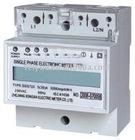 Single phase din rail watt meter LCD