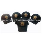 Applique embroidered cotton baseball cap