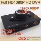 D6 Full HD 1080P HD DVR With IR Night Vision