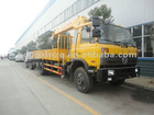 6.3tons truck mounted crane