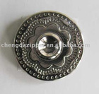 zinc metal button,metal button,diamond button