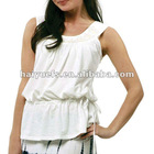 Fashion Cotton Tank Top For Lady