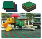 2012 rubber field, playground rubber ground mat,outdoor playground mats