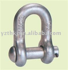 round pin chain shackle