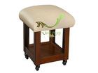 small wood stool 2008, sofa stool,wooden stool