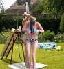 Outdoor bent solar shower 20 lt swimming pool & garden