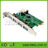 VIA VL800 Chipset, USB 3.0 4-port PCI-Express Controller Card