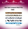 Hot Sell Leopard Nail File(180#)
