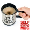 Self Stirring stainless steel mug