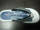 liquid massage flip flop sandal with liquid insoles on the top