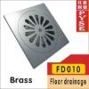 FD010 brass shower drain cover, drain cover,drainer, floor drainer, floor trap,drain trap,drain cover