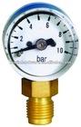 Mini. Pressure Gauge LM - Lower Mount,Polycarbonate Case