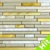 Hot Sale Golden Linear Mosaic Tiles