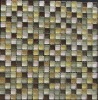 European stone mix glass gold glass mosaic