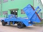 Swing Arm refuse truck