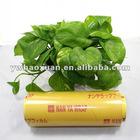 PVC cling film,pvc food wrap film for packing
