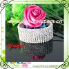 whosale wedding napkin ring,rhinestone chain bracelet
