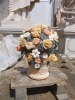 marble upright flower monuments