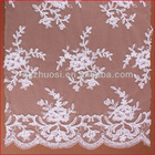 White Bead Pearl Dress Fabric Cotton Lace Fabric