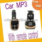 Car mp3 player with remote control and FM transmitter,