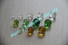 Smoothly Round Colored Crystal Beads