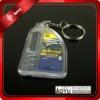 Crystal PMMA custom key chain